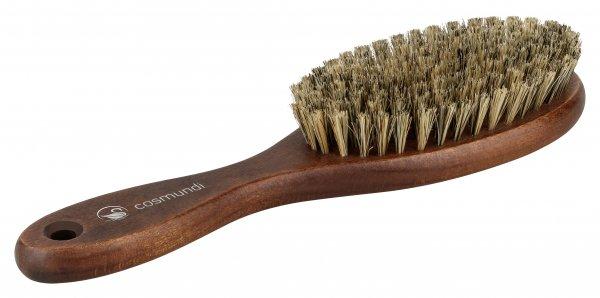 cosmundi Haarbürste natur extra-weich - umweltfreundliche kunststoffreie Verpackung