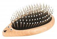 cosmundi Igel-Haarbürsten im 3er Set - Made in Germany - kunststofffreie Verpackung