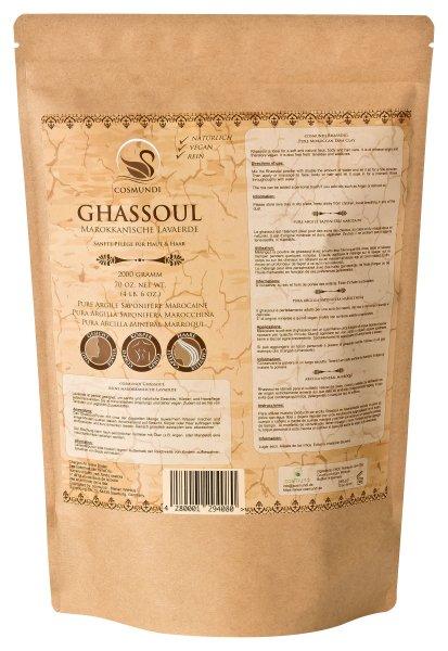 cosmundi Ghassoul 2kg Nachfüllpackung