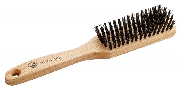 cosmundi Haarbürste mit 100% Wildschweinborste - gerade